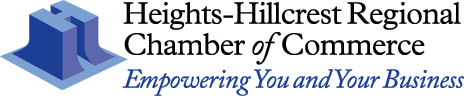 Heights-Hillcrest Regional Chamber of Commerce Logo